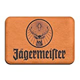 Jagermeister Giant Large Flag Thermal Transfer Welcome Mat, Non-slip Doorway Mat, Size 40 X 60 Cm
