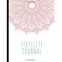 Fertility Journal: Beautiful Journal With Cycle Tracking Inc. Temperature, Cervical Fluid, LH, Ovulation & Medication. Suitable For Fertility Issues and Trying To Conceive (TTC).