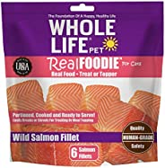 Whole Life Pet Products Healthy Treat or Meal Mixer for Cats, Human-Grade realFoodie Whole Boneless, Skinless
