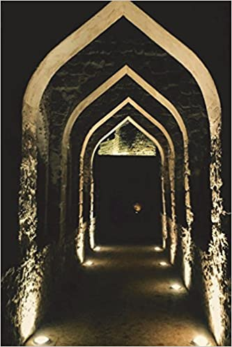 Entrance of Bahrain Fort in Seef Journal: 150 page lined