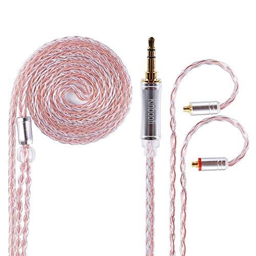 [해외]KBF4824 8 코어 고 순도 구리 + 실버 メッキミクス MMCX 3.5 MM リケ?ブル 스테레오 밸런스 케이블 Kinboofi (MMCX 3.5 MM) / KBF4824 8-Core High Purity Copper + Silver Plated Mix MMCX 3.5MM Recable Stereo Balance Cable Kinboofi (MMCX 3.5M...