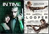 Looper + In Time DVD - Special movie 2 Pack Sci-Fi Set