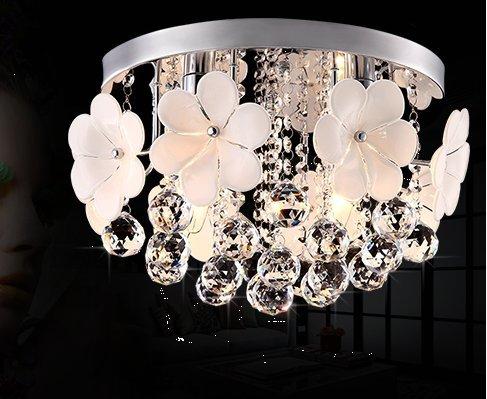 Plafoniera Fiori Vetro : Modern light fiori di vetro cristallo hanging soggiorno