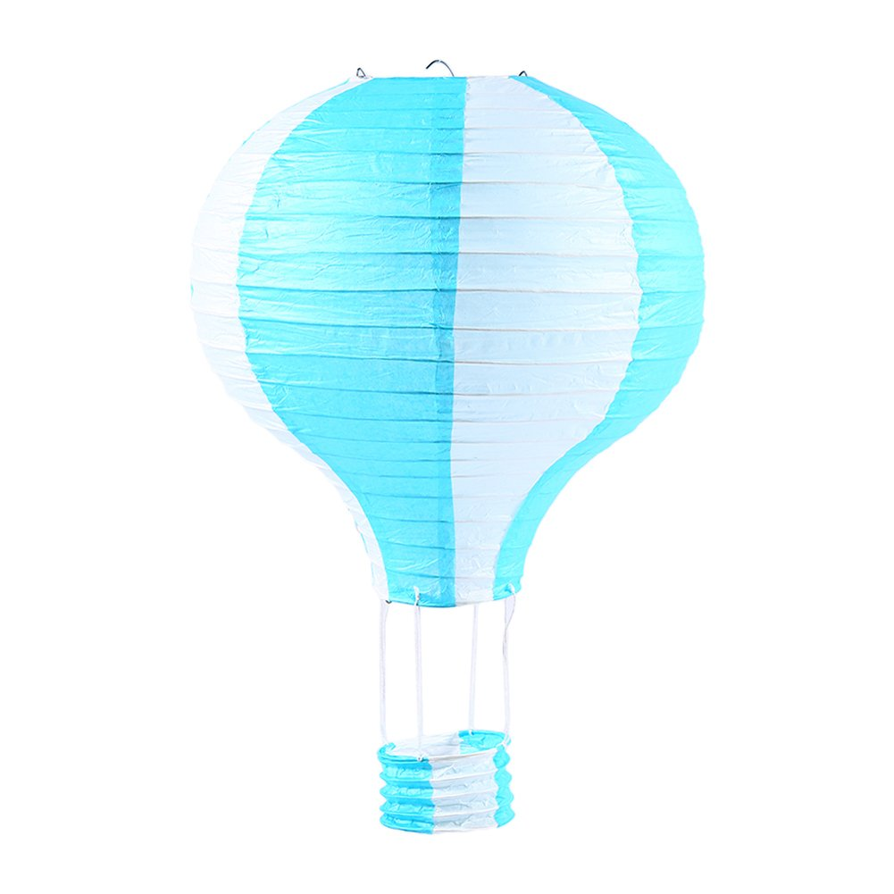 Metallgestell wei/ß Rayher 87191102 Papierlampion Hei/ßluftballon 15cm /ø23cm m