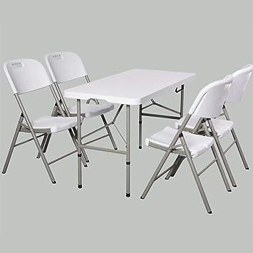 MJK Mesas plegables, sillas Juego de cocina multiusos Juegos de ...