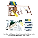 Swing-N-Slide Wrangler Custom DIY Play Set Hardware Kit