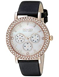 SO & CO New York  Women's 5216L.5 Madison Analog Display Quartz Grey Watch