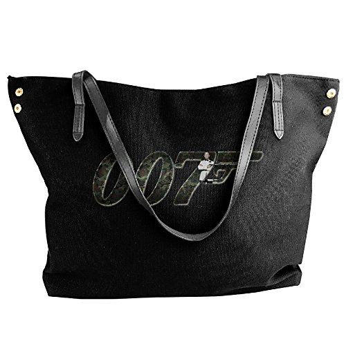 [James Bond 007 Logo Handbag Shoulder Bag For Women] (James Bond Womens Costumes)