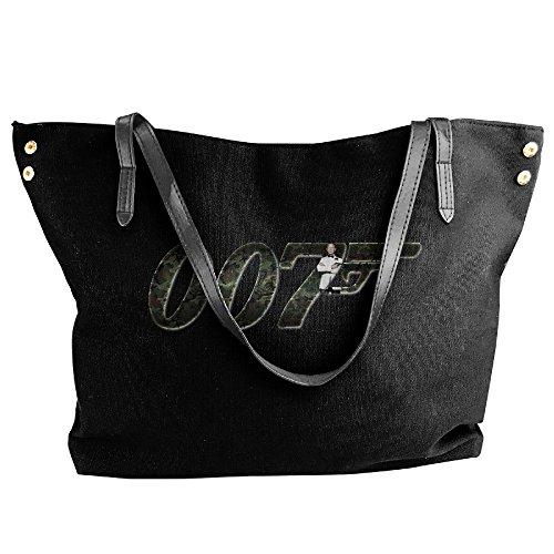 James Bond 007 Logo Handbag Shoulder Bag For Women