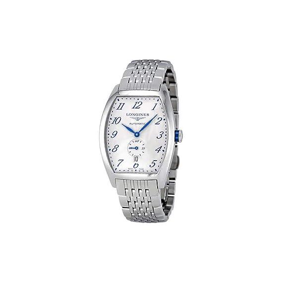 Longines L26424736 L2.642.4.73.6 - Reloj, correa de acero inoxidable color plateado
