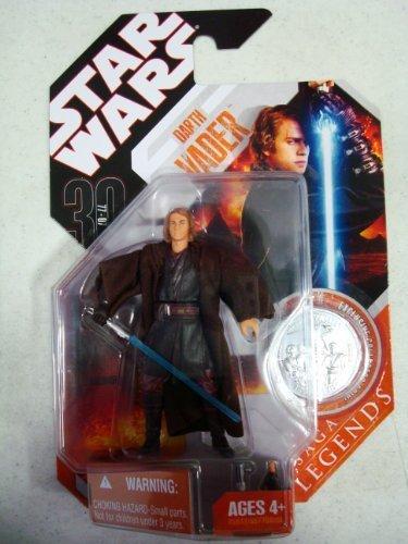 Star Wars 30th Anniversary Coin - Star Wars 30th Anniversary Saga Legends DARTH VADER Anakin Skywalker w/ coin