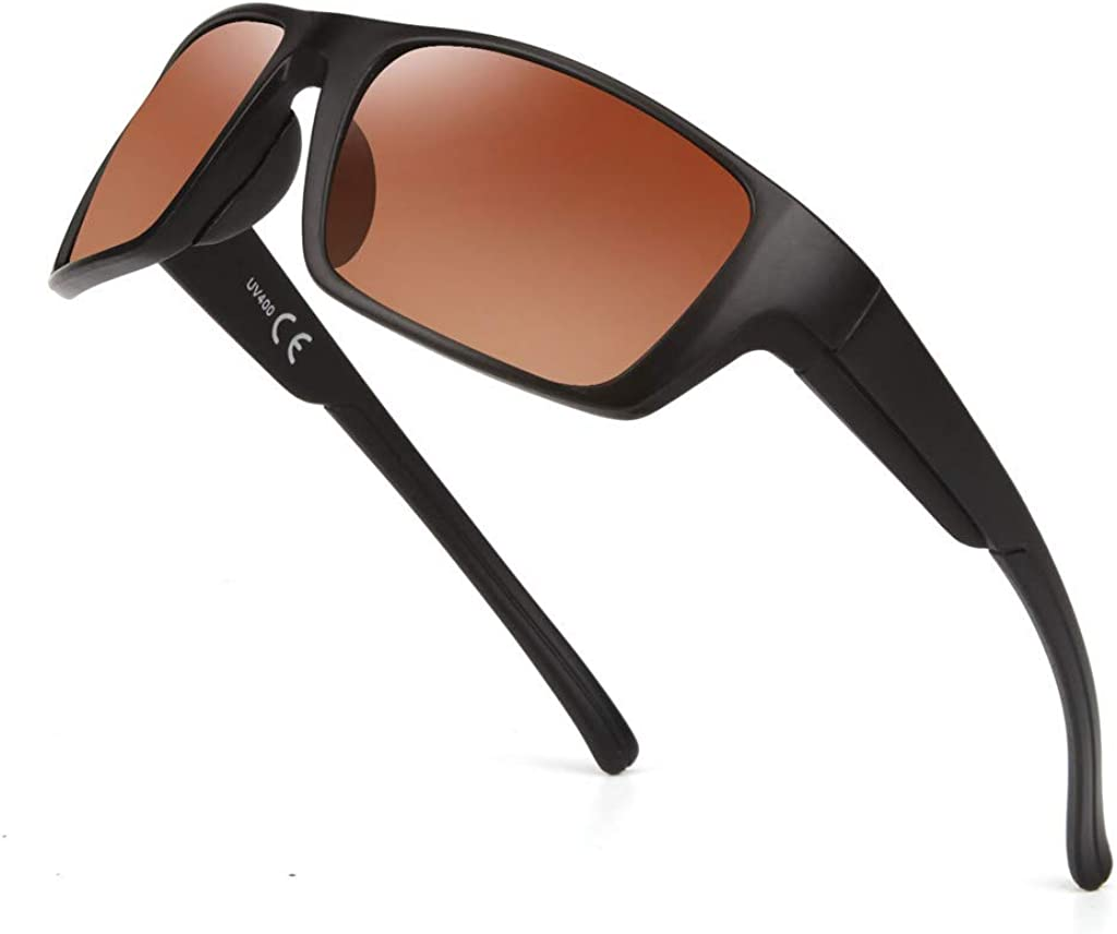 Skifahren Radfahren Sport-Sonnenbrille Fahrradbrille M/änner Frauen mit UV400 Schutz /& Robust und langlebig Golf iCerber Sportbrille Sonnenbrille f/ür Angeln Laufen