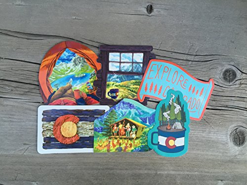 Explore Colorado Bumper Sticker Pack