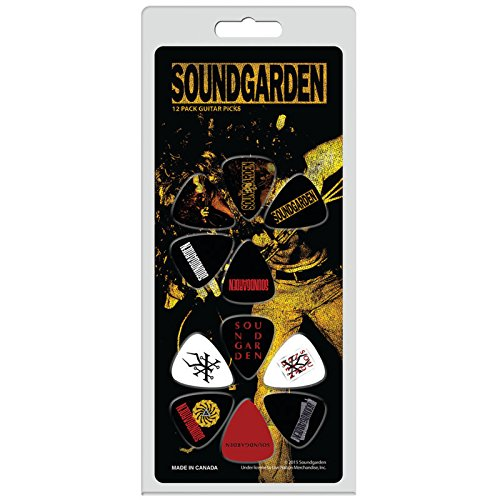 Soundgarden Louder Than Love Badmotorfinger Plectrums Official Guitar Picks Buy Online In Brunei Bitcruncher Products In Brunei See Prices Reviews And Free Delivery Over Bnd100 Desertcart