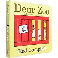 Dear Zoo 亲爱的动物园 原版 纸板书 幼儿英文绘本0-3岁 儿童宝宝 立体机关翻翻书 吴敏兰书单 低幼宝宝英语启蒙读物