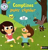 Comptines pour rigoler (1CD audio) par Gilles Diederichs