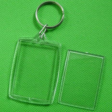 Amazon.com: 10 piezas transparente en blanco Insertar Foto ...