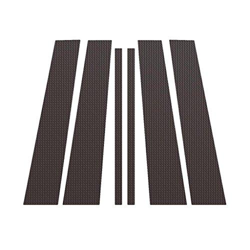 Ferreus Industries Carbon Fiber Pillar Post Trim Cover fits: 2009-2015 Honda Pilot All Models PIL-134-CF