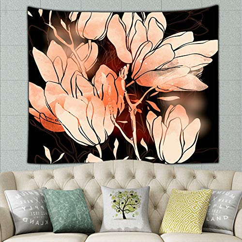 (wrtgerht Imprints Freesia Flowers Mix Repeat Abstract Nature Tapestry Wall Tapestry Bohemian Wall Hanging Tapestries Wall Blanket Wall Art Wall Decor Beach Tapestry Tapestry Wall Decor 50ʺ × 60ʺ)