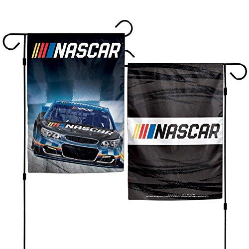 Banner Nascar (NASCAR Driver 12 x 18 2-Sided Garden Flag - 2017 Graphics (NASCAR Logo))