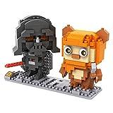 LOZ Diamond Blocks Star Wars Gift Series - Darth Vader and Ewok 9533