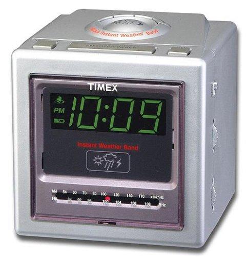 UPC 832680000953, Timex NOAA Weather Space Saver Clock Radio T239S