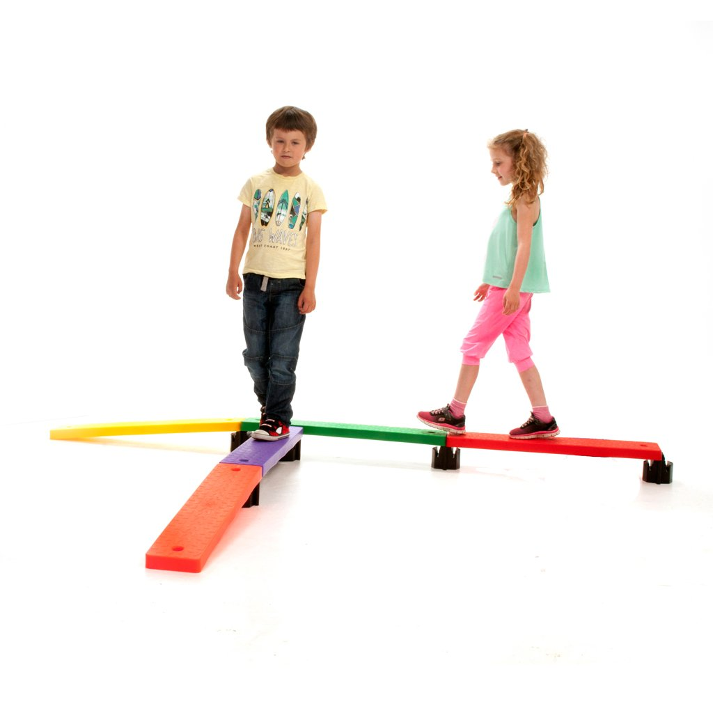First-Play Balance Board Set, Multi-Colour by First-Play