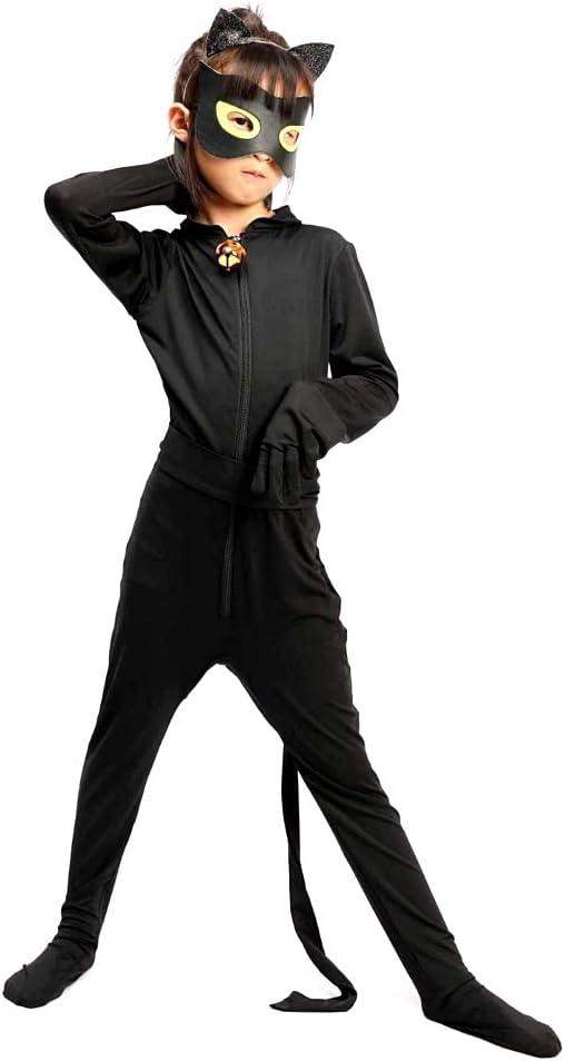 Disfraz de chat negro - cosplay - disfraces infantiles - halloween ...