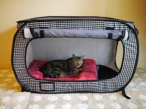 Necoichi Portable Stress Free Cat Cage Always Ready To Go