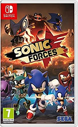 Amazon Com Sonic Forces Nintendo Switch Uk Import Video Games
