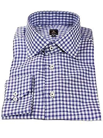 Robert talbott lavender check estate dress shirt at amazon for Robert talbott shirts sale