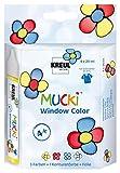 KREUL Mucki 24450–Window Colour Set Colour and Film 4x 29ml