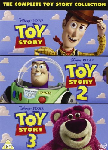 [The Complete Toy Story Collection: Toy Story / Toy Story 2 / Toy Story 3 [DVD] [Region 2 DVD, Requires a Multi Region DVD Player]] (Toys Dvd)