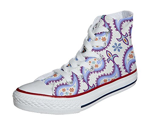 Converse All Star Customized - zapatos personalizados (Producto Artesano) Decorative Paisley