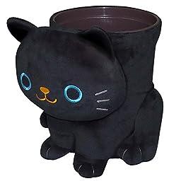 Black Cat Wastebasket ME130 by Meiho