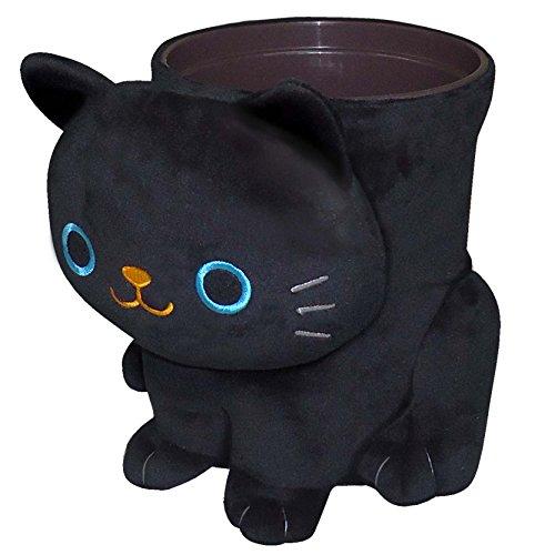 Wastebaskets Kids (Black Cat Wastebasket ME130 by Meiho)
