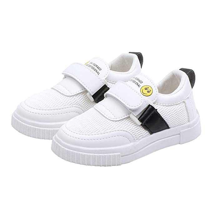 205da73a367fe Amazon.com: Toddler Kids Sneakers Cartoon Sport Mesh White Shoes ...