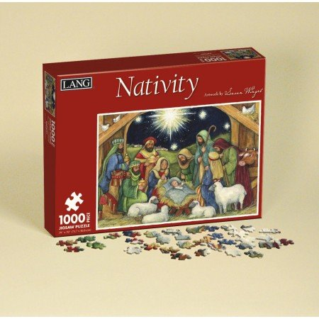 Lang Nativity by Susan Winget Jigsaw Puzzle (1000-Piece)