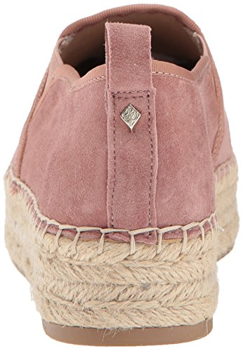 Sam Edelman Frauen Carrin Plattform Espadrille Slip-On Sneaker Dusty Rose Wildleder