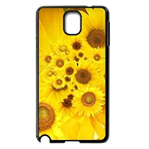 ALICASE Diy Case Sunflower For samsung galaxy note 3 N9000 [Pattern-1]
