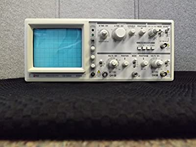 EZ Digital OS-5060A Oscilloscope without Probe, 60MHz, 2-Channel, Dual Trace, Delayed Sweep