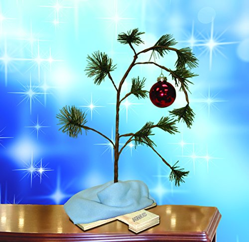 ProductWorks 24-inch Peanuts Charlie Brown Musical Christmas Tree with Linus Blanket by ProductWorks (Image #1)