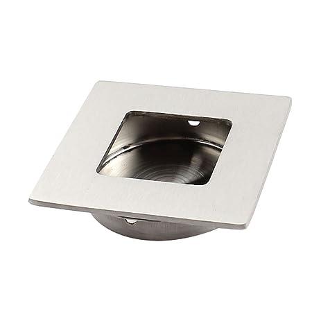 Amazoncom Flush Mount Drawer Sliding Door Concealed Pull Handle