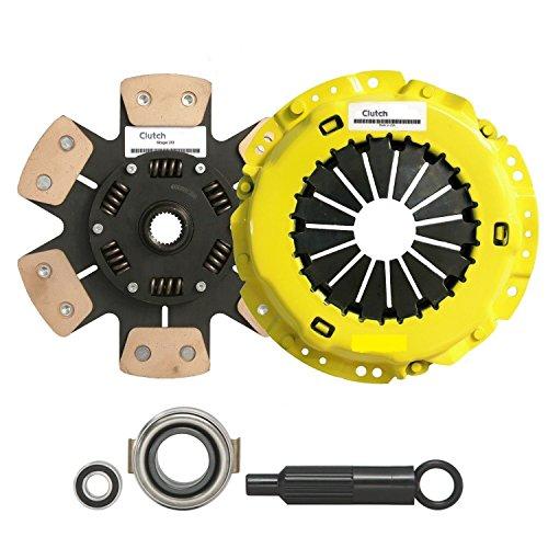 (Clutch Kit Complete Stage 3 Fits TOYOTA SUPRA 2.5L 1JZGTE 1JZ-GTE JDM TURBO Automotive Clutch Pressure Plates & Disc Sets - House Deals )