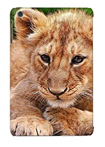 Gjmtnk-5324-segukne Case Cover Protector Series For Ipad Mini/mini 2 Animal Lion Case For Lovers