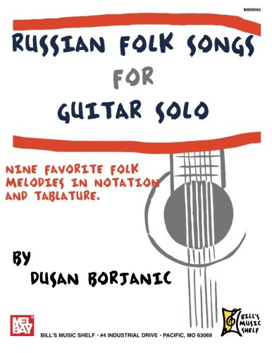 Russian Folk Songs For Guitar Solo ()