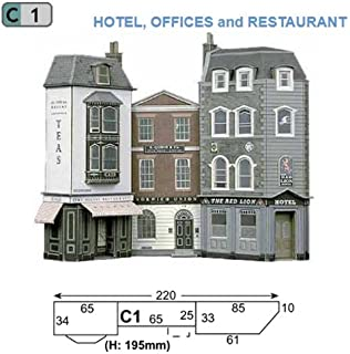 OO Low Relief kit free post Regency Period Shops /& House Superquick C4
