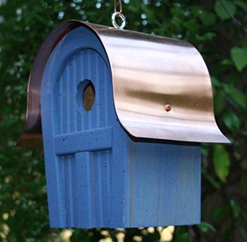 Twitter Junction Bird House Blue