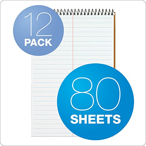 TOPS Second Nature Steno Book, 6 x 9 Inch, Gregg Rule, Recycled, 80 Sheets, 12-Pack, White (74688) Photo #5