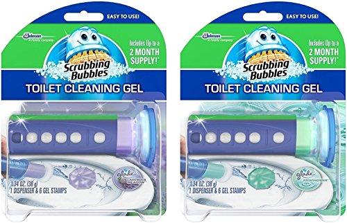 Best Scrubbing Bubbles Toilet Cleaning Gel Lavender 1 34